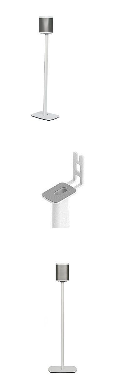 Speaker Mounts and Stands: Flexson Floorstand Speaker Stand For Sonos Play : 1 Speaker - White, Single Unit -> BUY IT NOW ONLY: $55.99 on eBay!