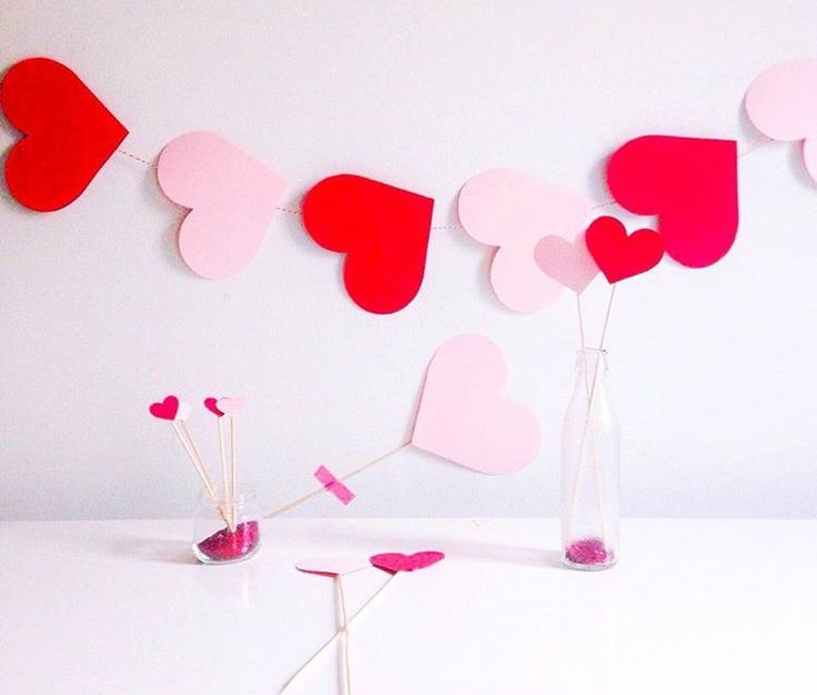 Decorazioni San Valentino fai da te