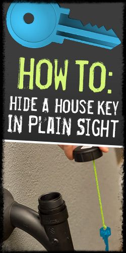 How To: Hide A House Key In Plain Sight
