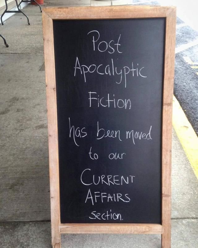 Funniest Post-Election Memes: Post-Apocalyptic Fiction