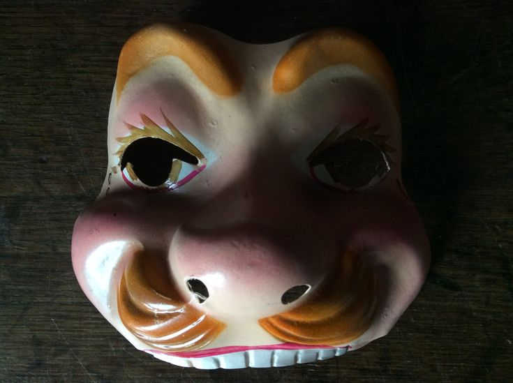 Vintage 1960s French Fancy Dress Mask Purchase in store here http://www.europeanvintageemporium.com/product/vintage-1960s-french-fancy-dress-mask-3/