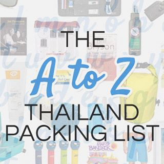 """Since we published the first draft in 2008, our """"What to Pack for Thailand"""" advice has been amongst the most popular posts on our site. It makes perfect sense. While hotels, activities and restaurants are subjective choices, packing the wrong kind of shoes will be wrong on every pair of feet. Given the huge demand...Read More »"""