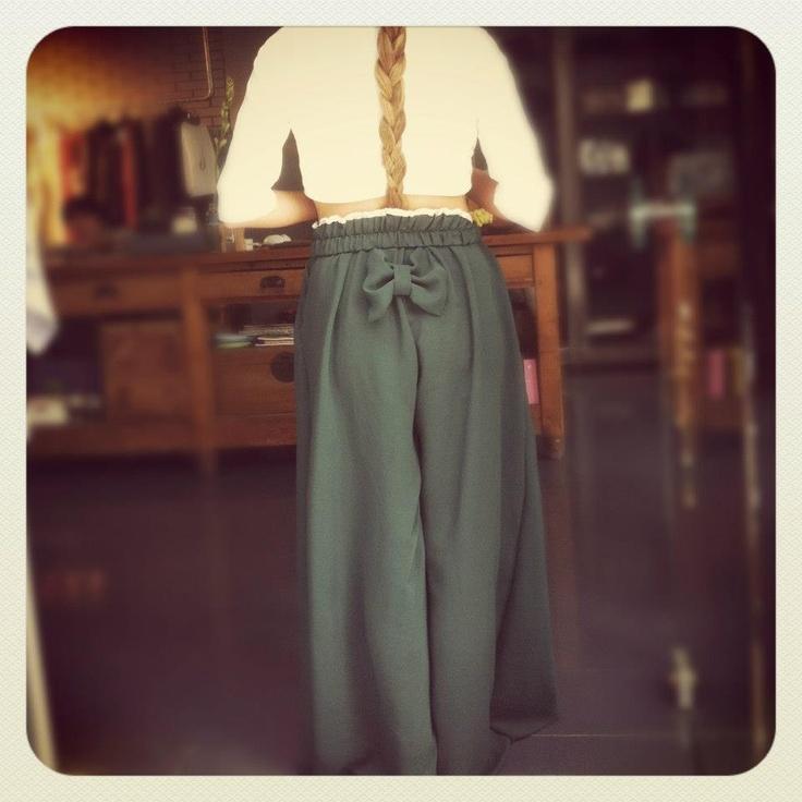 manolia trousers green version