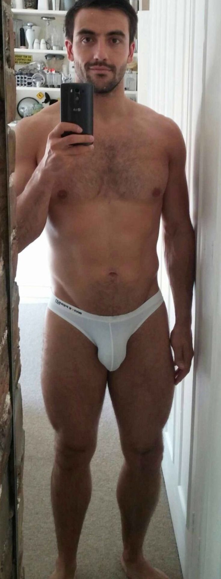 Gay Interest The Male Figure Vol1 Male Semi Nudes 6x4 Beefcake Bruce of LA Photo