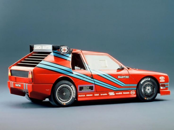 Lancia ECV Group B Rally Car Prototype.  600HP, Twin Turbo, Carbon-Fibre and Kevlar bodied.   It never raced.