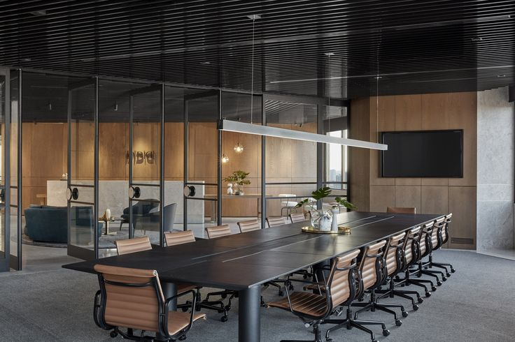 Luxury materials bring hotel feel to headquarters of PDG property developers