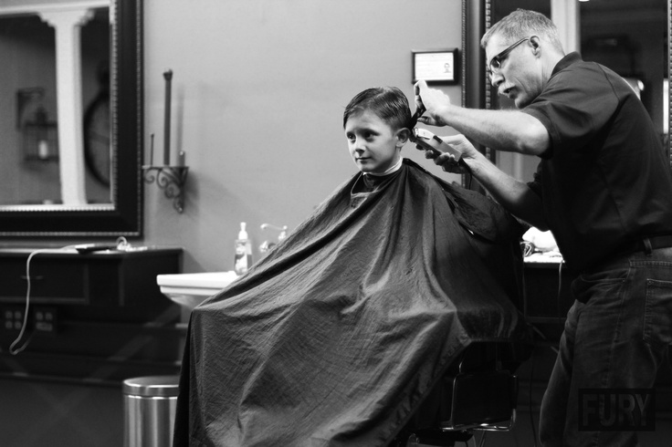 #FURYplus magazine black and white imperial barber shop outlaw