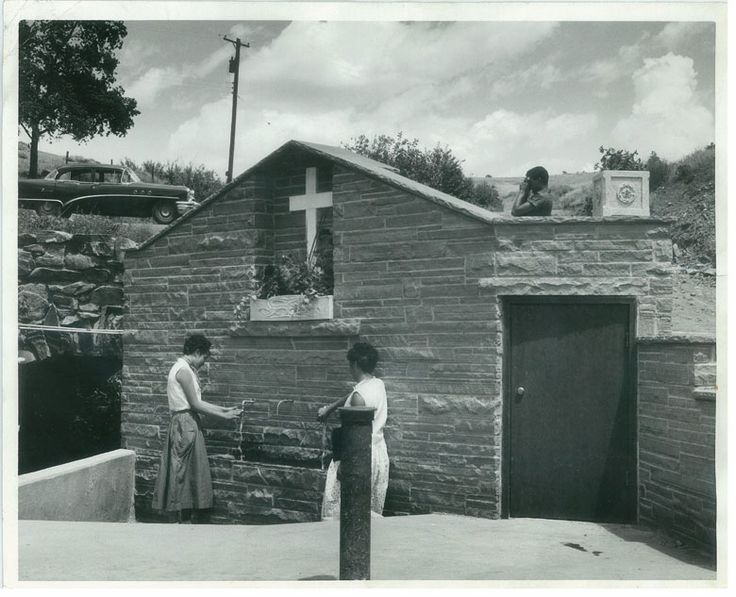 """MR_P5760 The Grotto at """"Mother Cabrini"""" in Golden, Colorado. Read about the history of Mother Cabrini."""