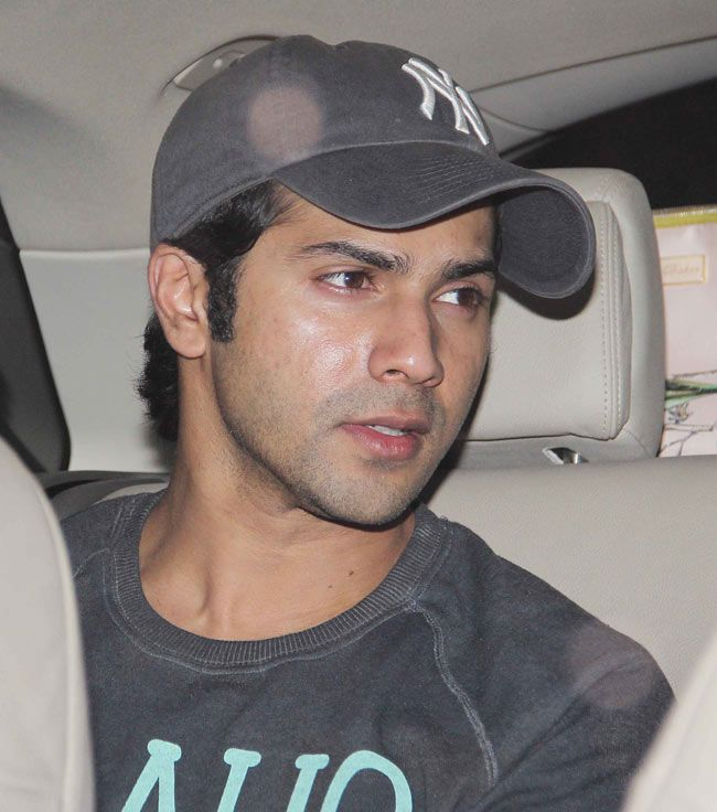 Varun Dhawan at the screening of '2 States'. #Style #Bollywood #Fashion #Handsome