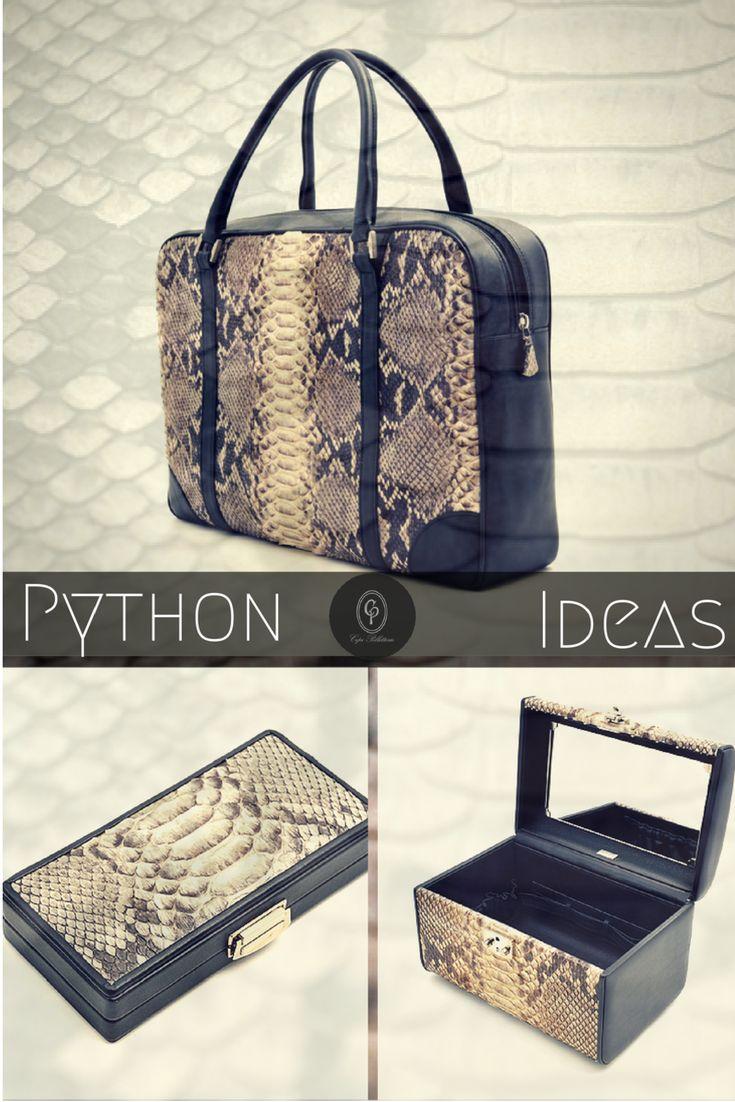 Exotic #leather : find #CepiPelletterie #python #skin #ideas 100% #handmade in #Italy! http://goo.gl/nzdgMC  ******* Suggestioni esotiche: scopri le idee in #pelle di #pitone di Cepi Pelletterie! Puro artigianato #MadeInItaly! http://goo.gl/To08VA  #borse #bags #manicure #beautycase #jewelrybox #portagioie #gift