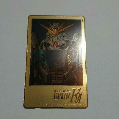 Mobile Suit Gundam F91 Telephone Card 50 Degrees #gundam #anime #game