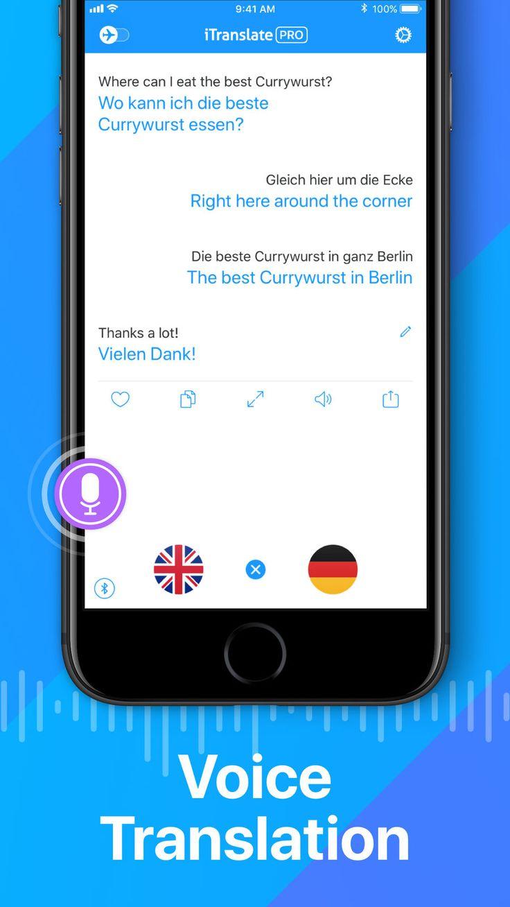 iTranslate Translator on the App Store Iphone, Ipod
