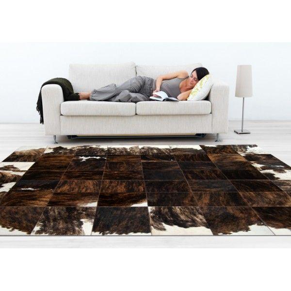 patchwork cowhide rug k-156 medium brown ORDER HERE: http://www.furhome.gr/shop/en/patchwork-cowhide-rug-k-156-286.html