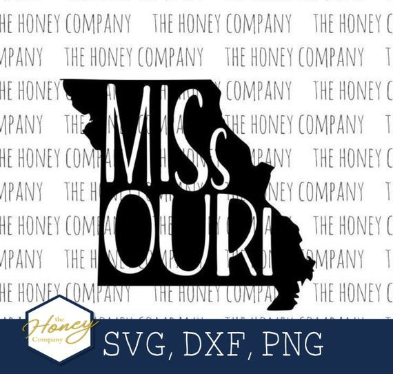 Missouri Svg Png Dxf State Outline Instant Download Silhouette Etsy In 2021 State Outline Silhouette Diy Projects Free Cricut Images