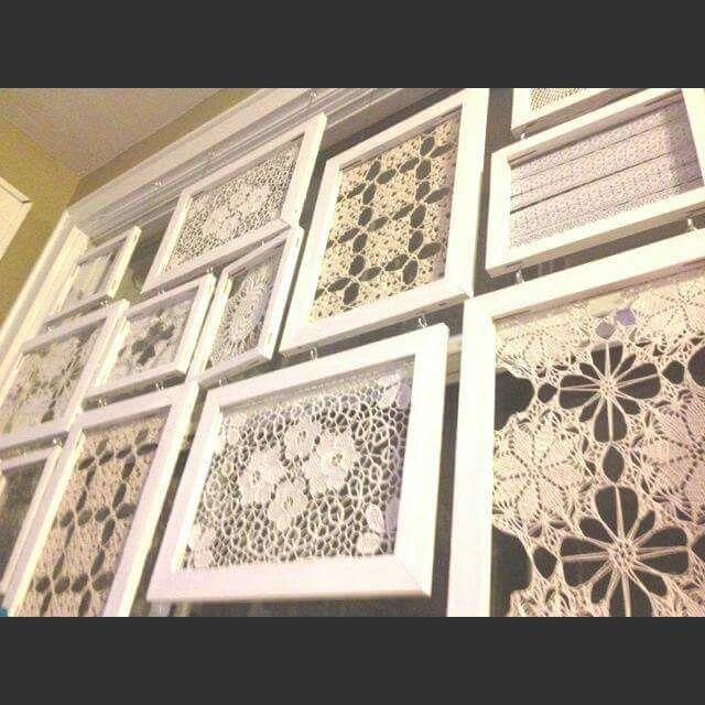 1000+ ideas about Framed Doilies on Pinterest | Doilies, Doily Art ...