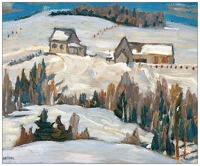 and another by Sir Frederick Banting, creator of insulin and respected amateur painter who painted with Group of 7