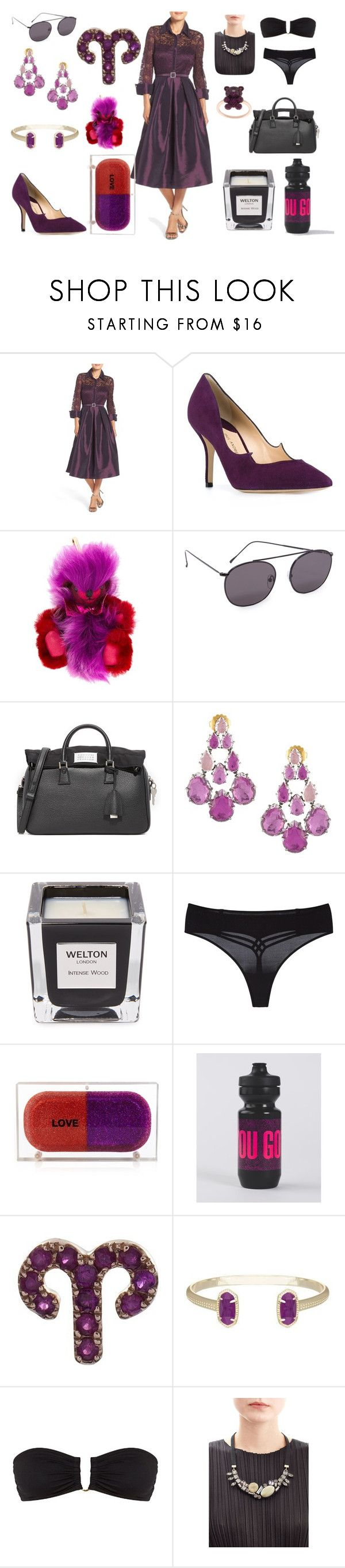 """""""Fashion festival"""" by camry-brynn ❤ liked on Polyvore featuring Eliza J, Paul Andrew, Burberry, Illesteva, Maison Margiela, Welton London, Marlies Dekkers, Sarah's Bag, lululemon and Loquet"""