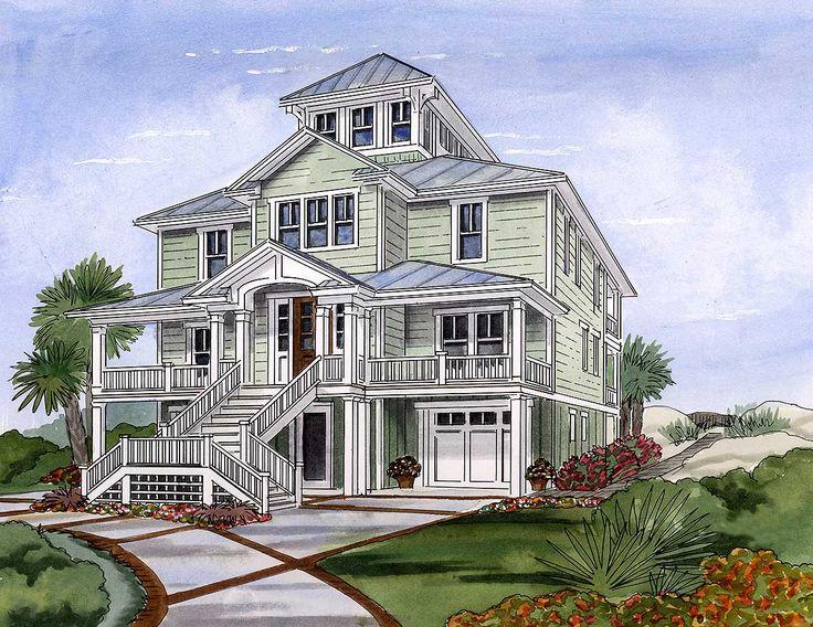 39 Best House Plans Images On Pinterest Beach Houses