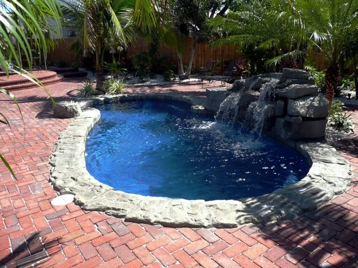 Pool Design, Comfy Small Fiberglass Pool Desing And Prices With Block  Paving Andu2026