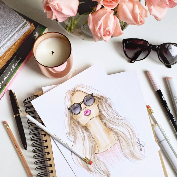 Fabulous Doodles Fashion Illustration blog by Brooke Hagel: Sunglass Hut Custom Illustration Gifts