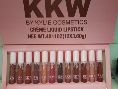 Magnifique Coffret Kkw By Kylie Cosmetics 12 Rouge A Levres
