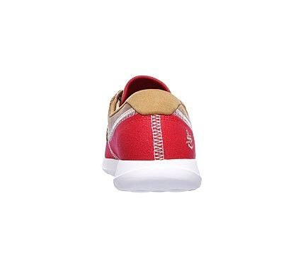 Skechers Women's GOwalk Lite Coral Boat Shoes (Red/White)