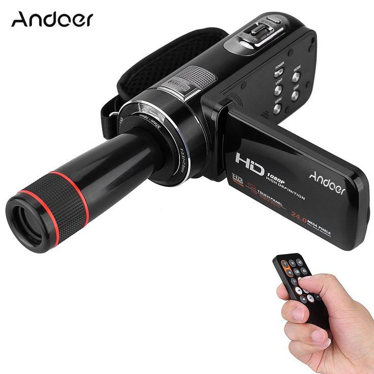 Best Andoer HDV-Z8 1080P Full HD Digital Video Camera Sale Online Shopping