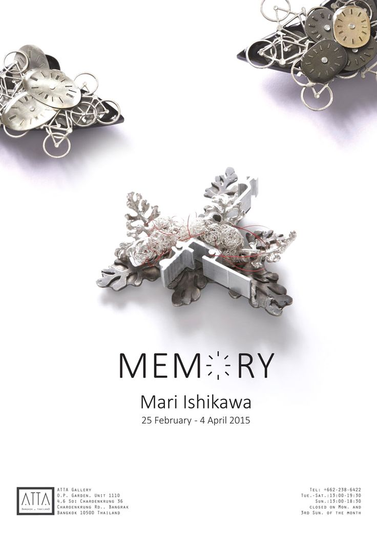 Memory by Mari Ishikawa Exhibition / 25 Feb 2015 - 04 Apr 2015 ATTA GAllery