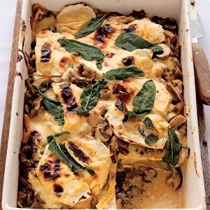 Recept - Lasagne met paddenstoelen - Allerhande
