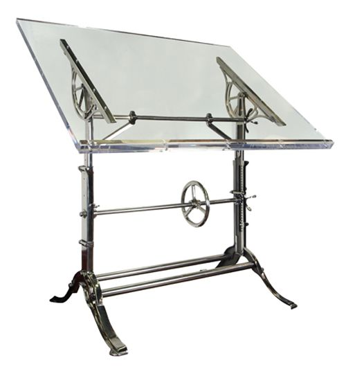 drafting tables   Urban Archaeology   Mechanical Industrial Drafting Table UA0203 SV