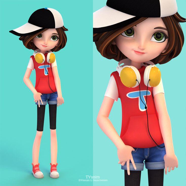 Cartoon Character Design Inspiration : Funny cartoon characters and d models design