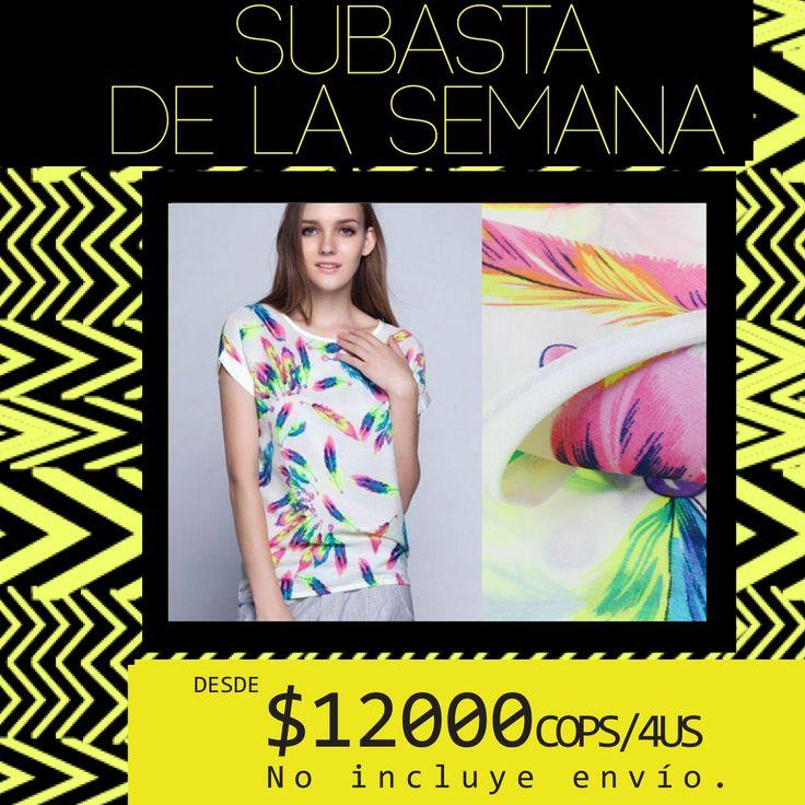 ·SUBASTA DE LA SEMANA· ¡Haz tu oferta en un comentario y llévate esta linda blusa! ღ  - Desde el 06/03 al 13/03 -
