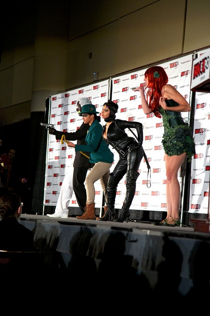 Arkham, including Catwoman & Poison Ivy - Fan Expo Masquerade 2012 11 by MikeyGorman, via Flickr