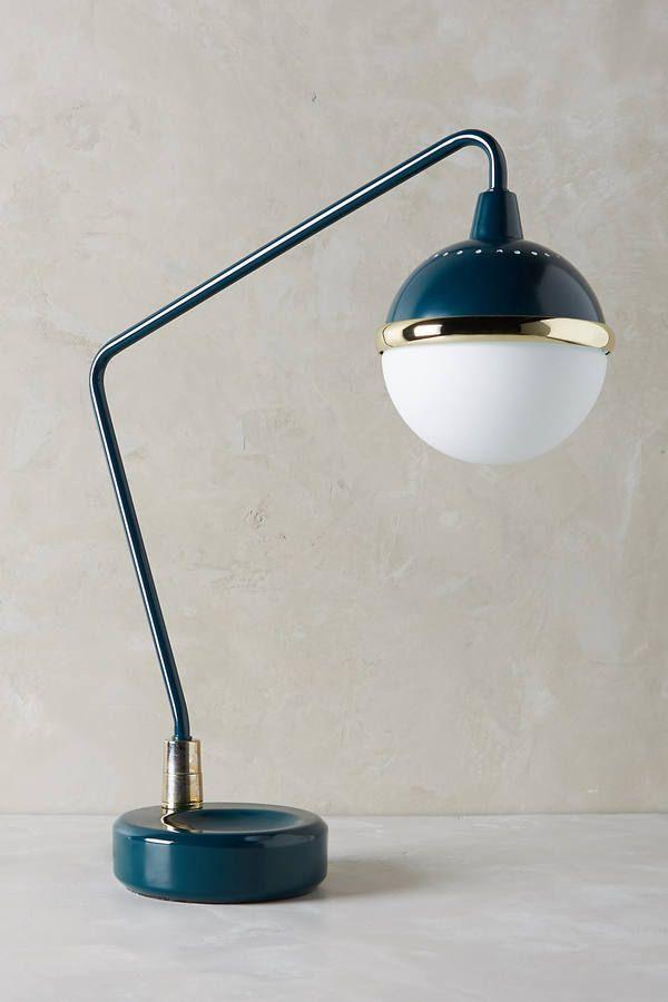 Anthropologie Anchored Orb Task Lamp
