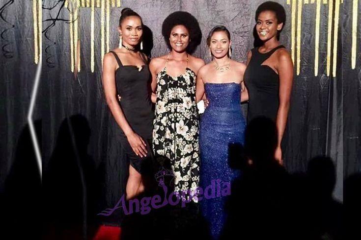 Four lucky finalists of Miss World Fiji 2017 walked the ramp at Fiji Fashion Week