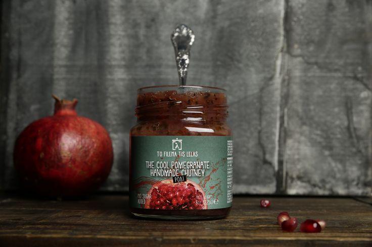 Cool!!!! Pomegranate chutney .........by To filema tis Lelas- Greece