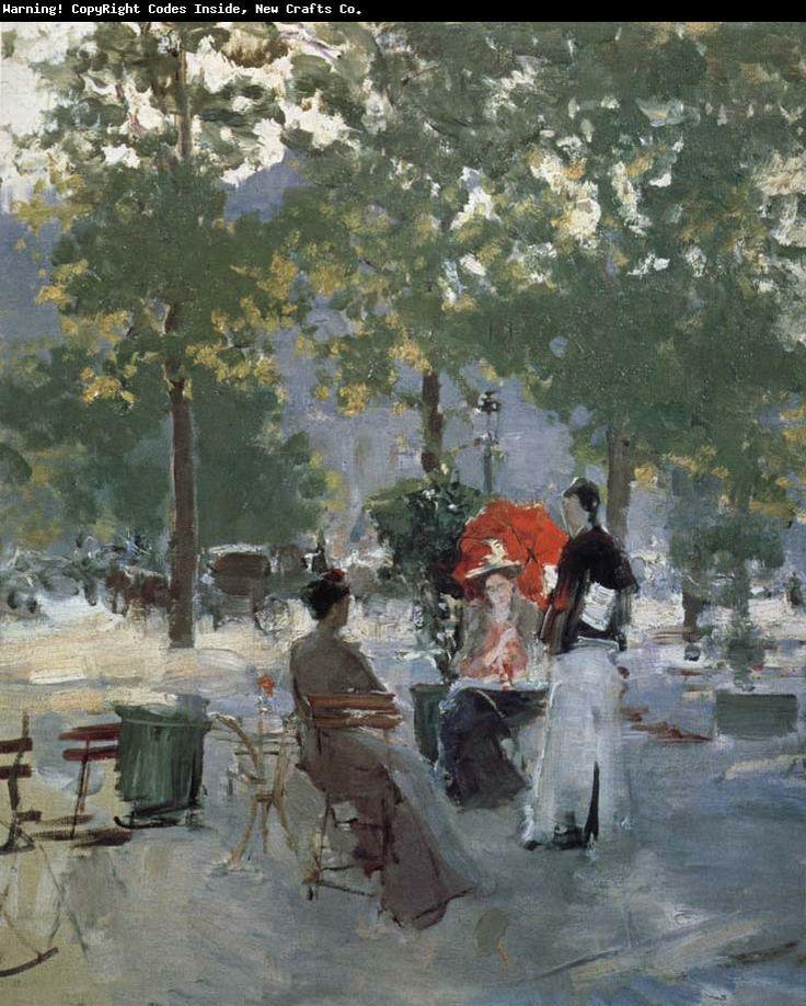 Cafe of Paris Konstantin Korovin