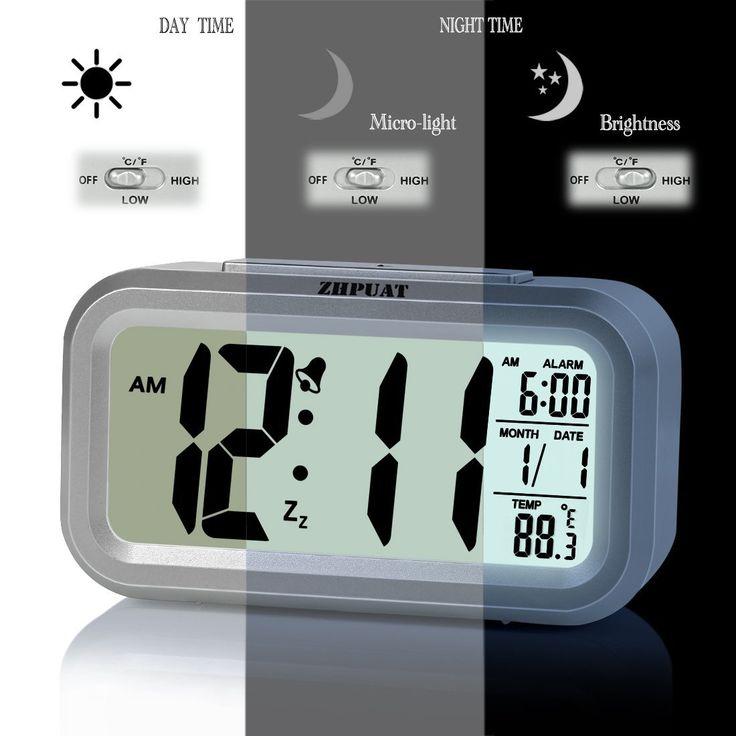Smart Light Alarm Clock with Dimmer