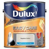 Dulux Easycare Matt Paint - Egyptian Cotton 2.5L