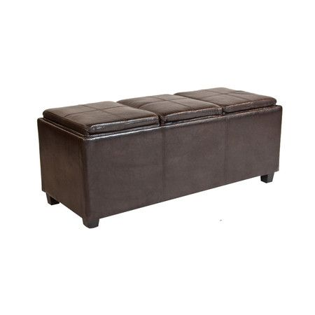 Found it at Wayfair - Avalon Rectangular Storage Ottoman with 3 Serving Trays http://www.wayfair.com/daily-sales/p/Neat-%26-Tidy-Mudroom-Avalon-Rectangular-Storage-Ottoman-with-3-Serving-Trays~QSI1064~E16240.html?refid=SBP.rBAZEVReMjsk-mxY_sDyAtSeYXkiQU_TkCWpj8xgDvU