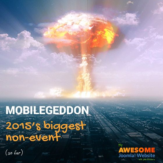 Mobilegeddon: 2015's biggest non-event (so far)