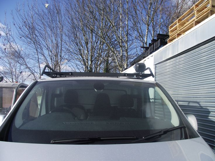 Modular Rack and PipeTube fitted to a Vauxhall Vivaro www.rhino-roof-accessories.co.uk