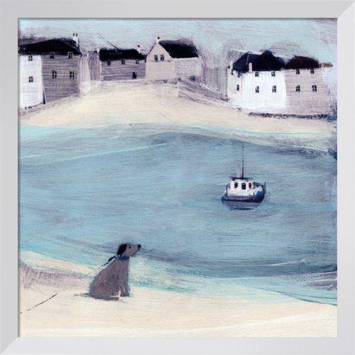 Waiting Art Print by Hannah Cole at King & McGaw