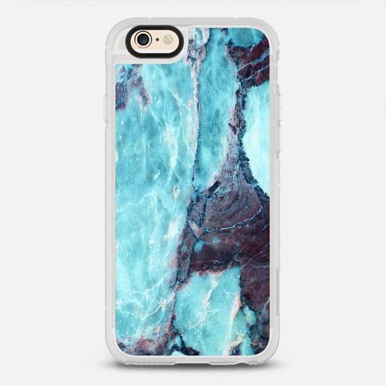 SUMMER BLUE OCEAN MARBLE - Classic Grip Case