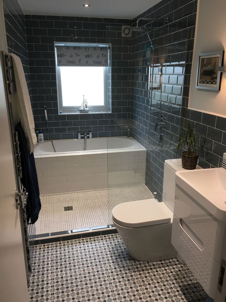 Photo Gallery For Website Look at the great use of space with a bath and a shower in this innovative design David from Gateshead has created a semi wet room layout allows him to
