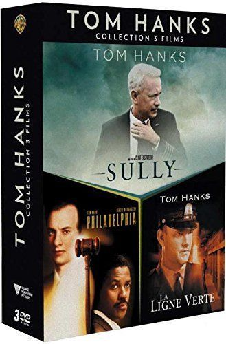 Tom Hanks - Collection 3 films : Sully + La Ligne verte + Philadelphia  - DVD