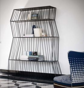 Babele Bookcase- Paola Navone for Baxter