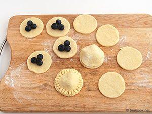 Творожное печенье с начинкой - beecook.net