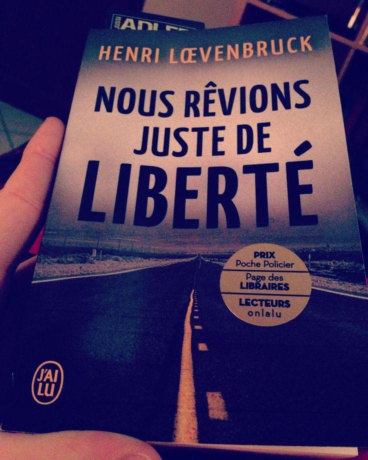 #vendredilecture #fridayreading : NOUS REVIONS JUSTE DE LIBERTE par henri loevenbruck chez @jailu_editions ! Et vous que lisez-vous?