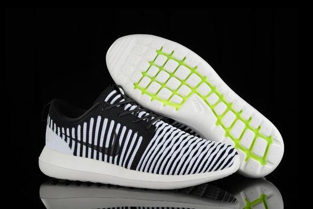best cheap e432a bd171 chaussure femme nike roshe run nike roshe flyknit noir et blanche femme